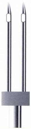 Klasse Machine Needle Twin Metallic 2.0mm