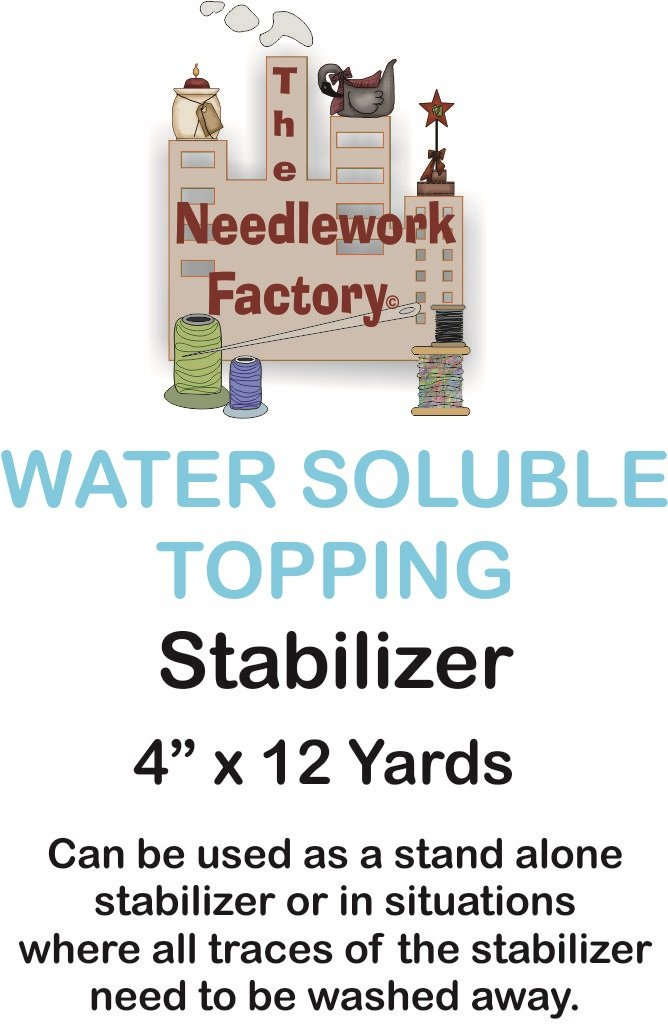 The Needlework Factory Water Soluble Topping