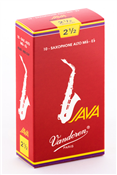 Single Vandoren Java Red Alto Sax Reed 2.0