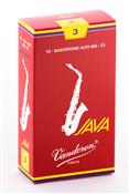 Single Vandoren Java Red Alto Sax Reed 3.0