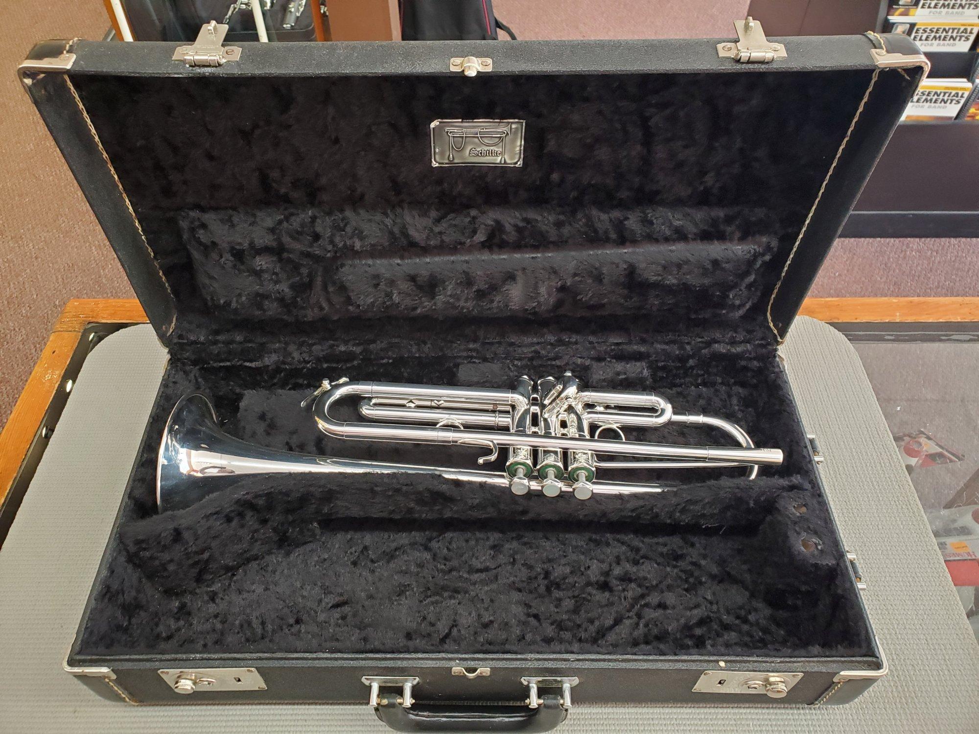 Used Schilke B3L Trumpet