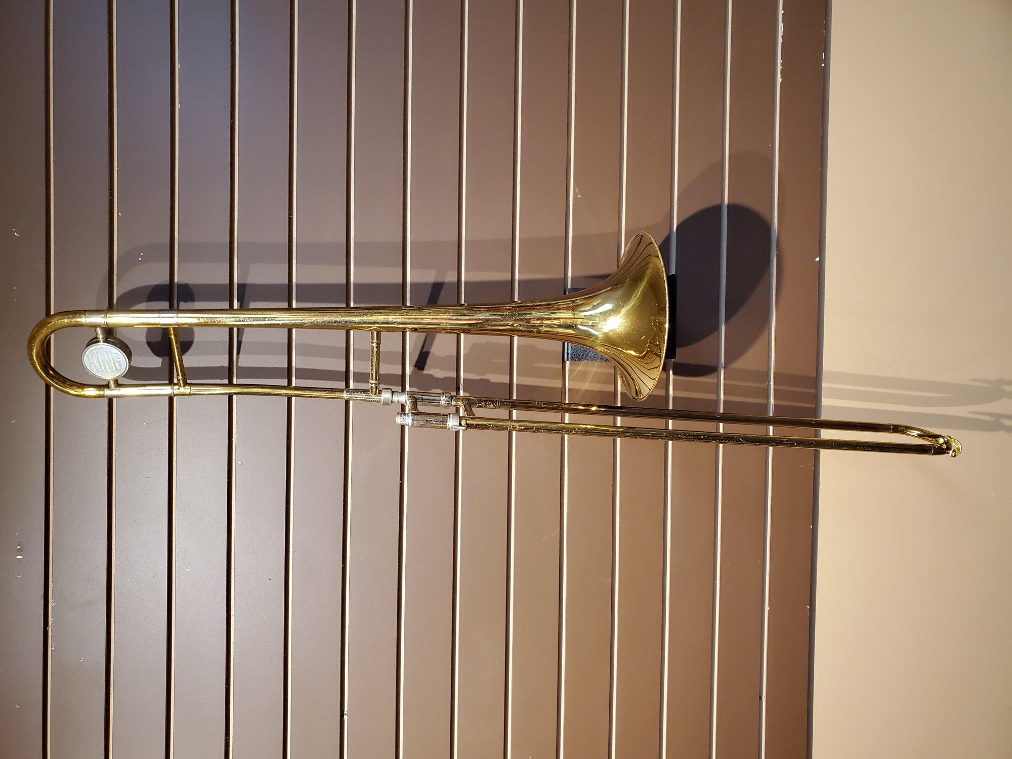 Used King Tempo 606 Trombone