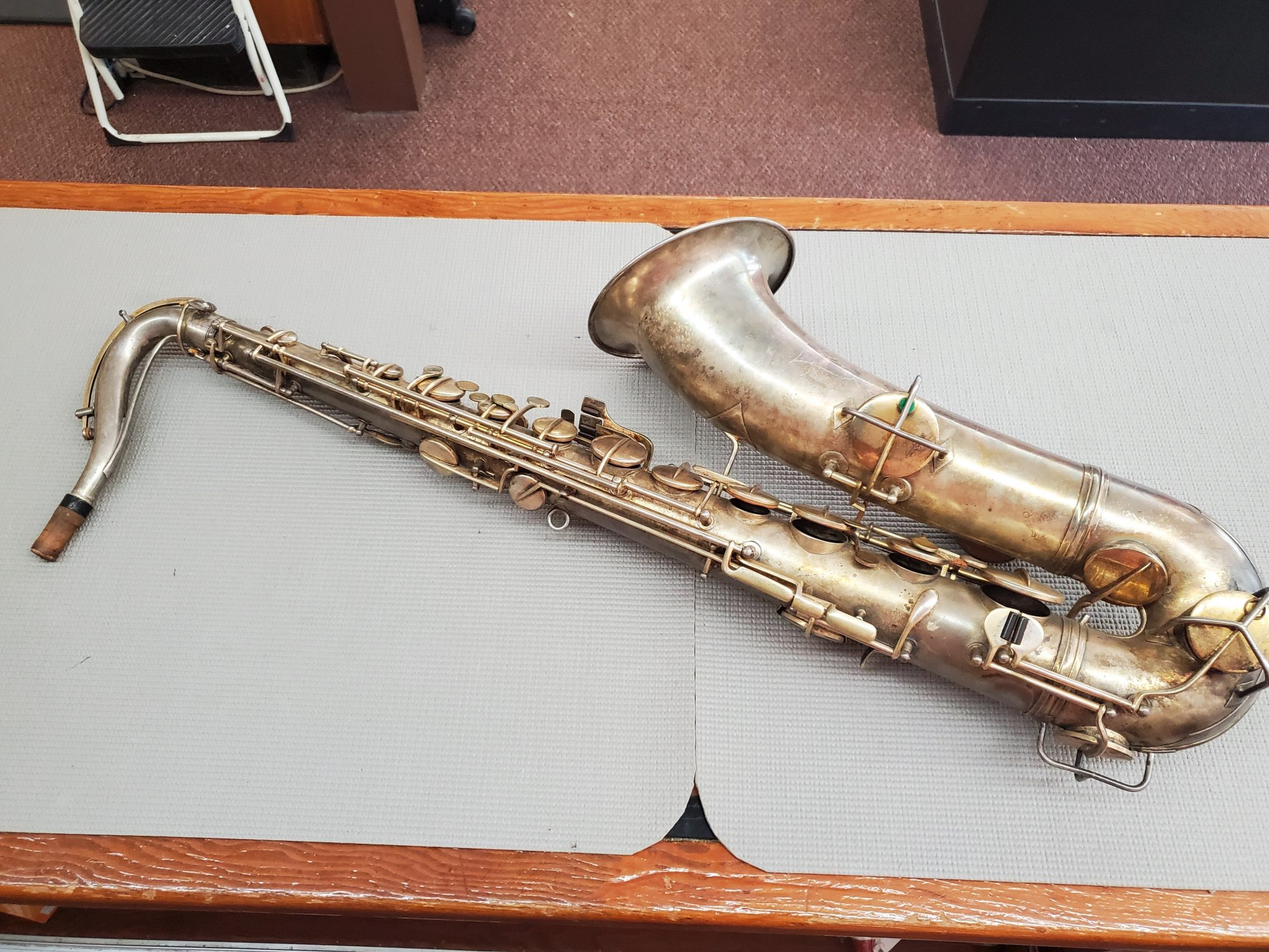 Used Conn 'Low Pitch' Tenor Saxophone