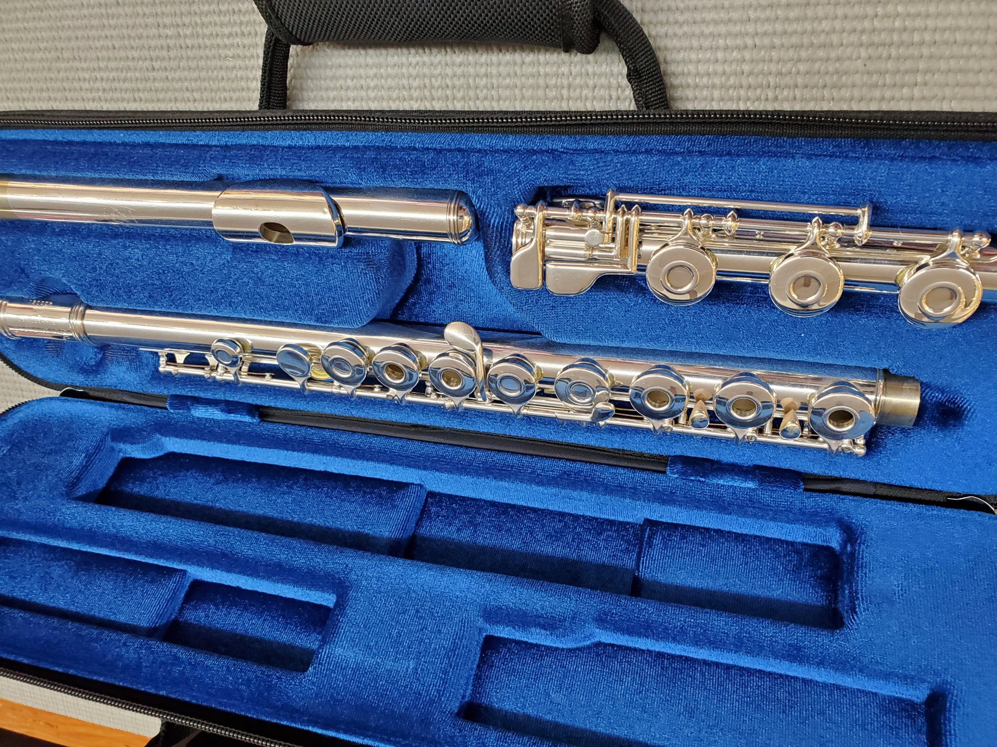 Used Gemeinhardt 3B Open Hole Flute