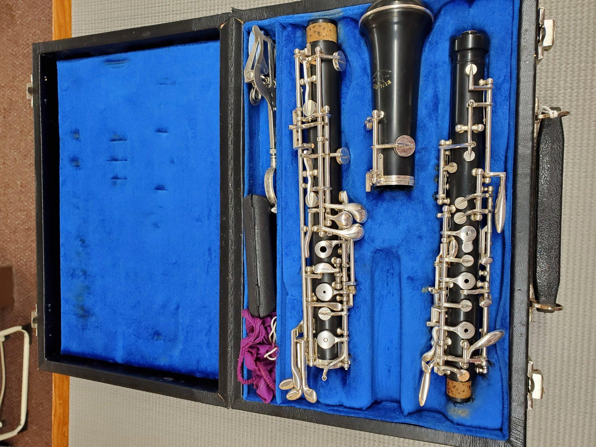 Used Renard Model 330 Artist Oboe