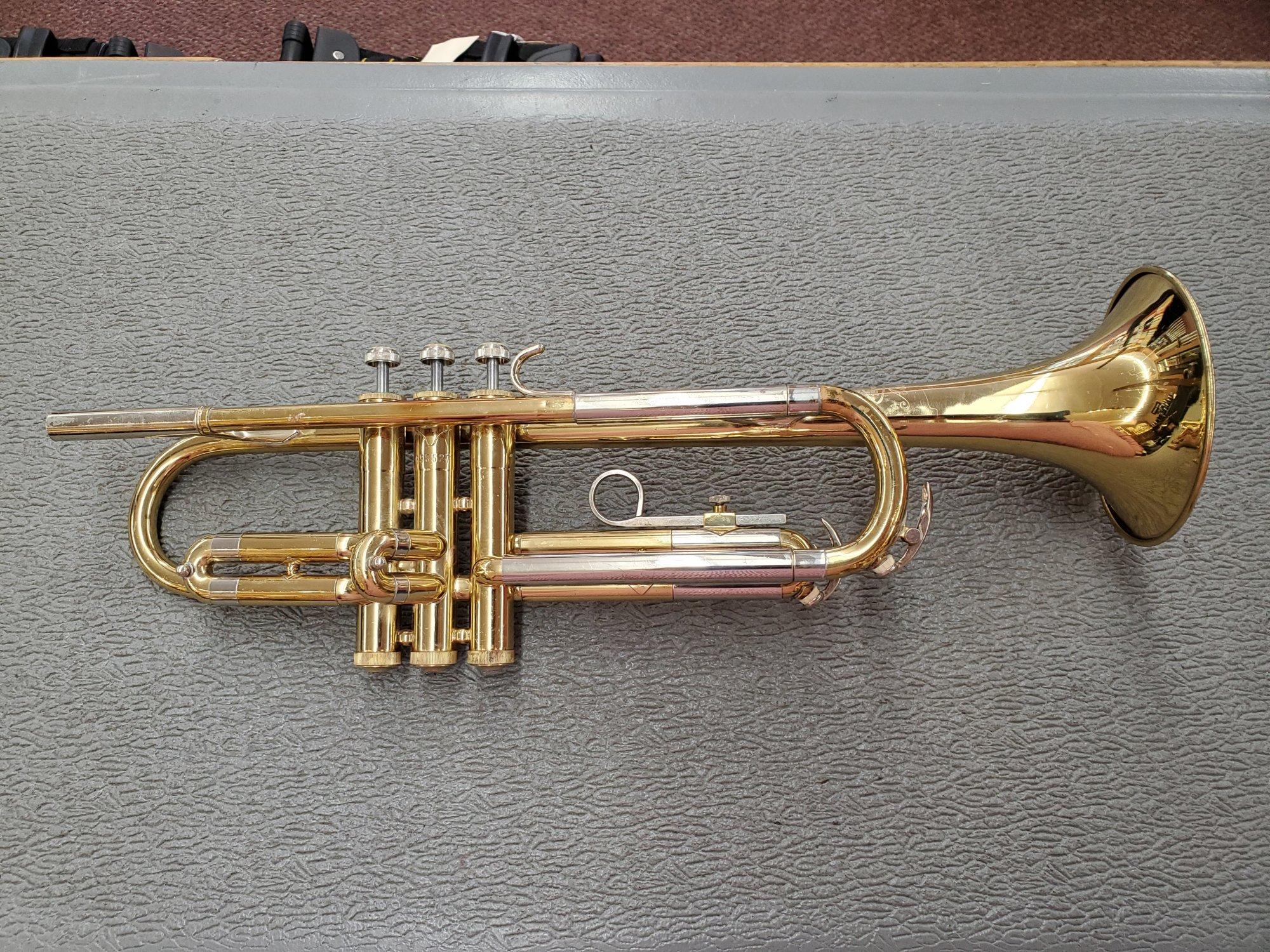 Used Buescher Aristocrat Bb Trumpet