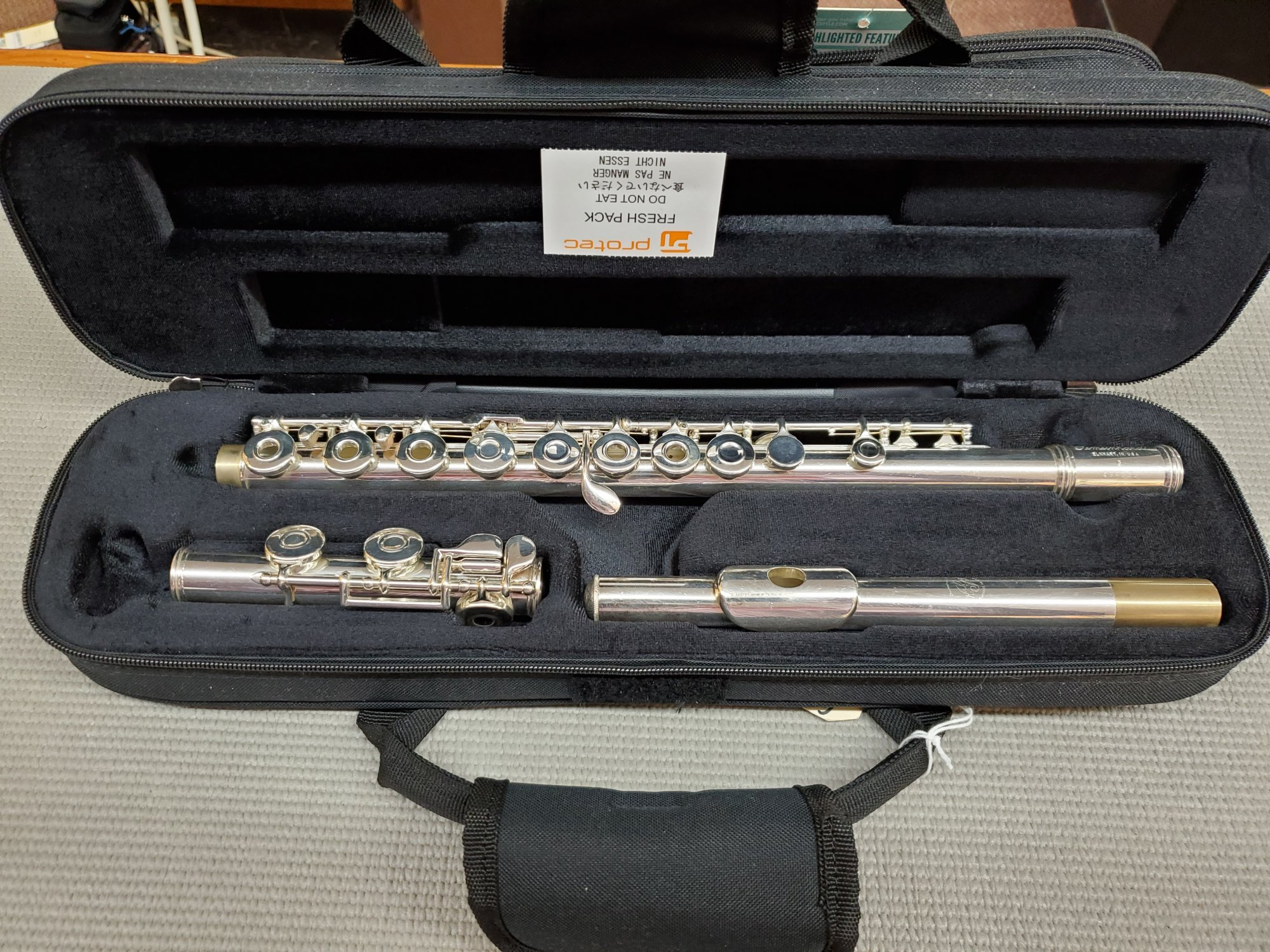 Used Gemeinhardt Model 3 Open Hole Flute (C-Foot)
