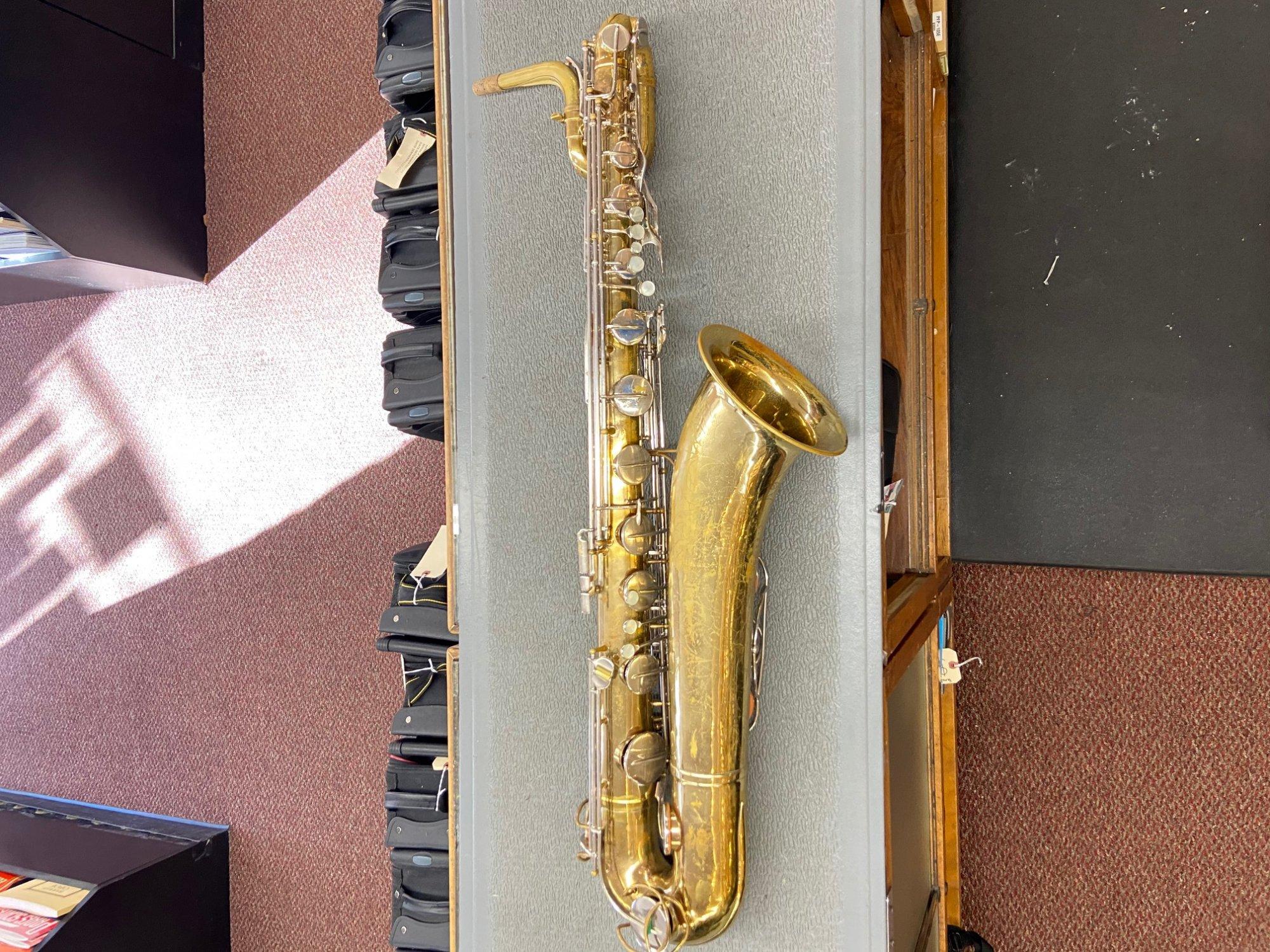Used Martin Baritone Saxophone (Low Bb)