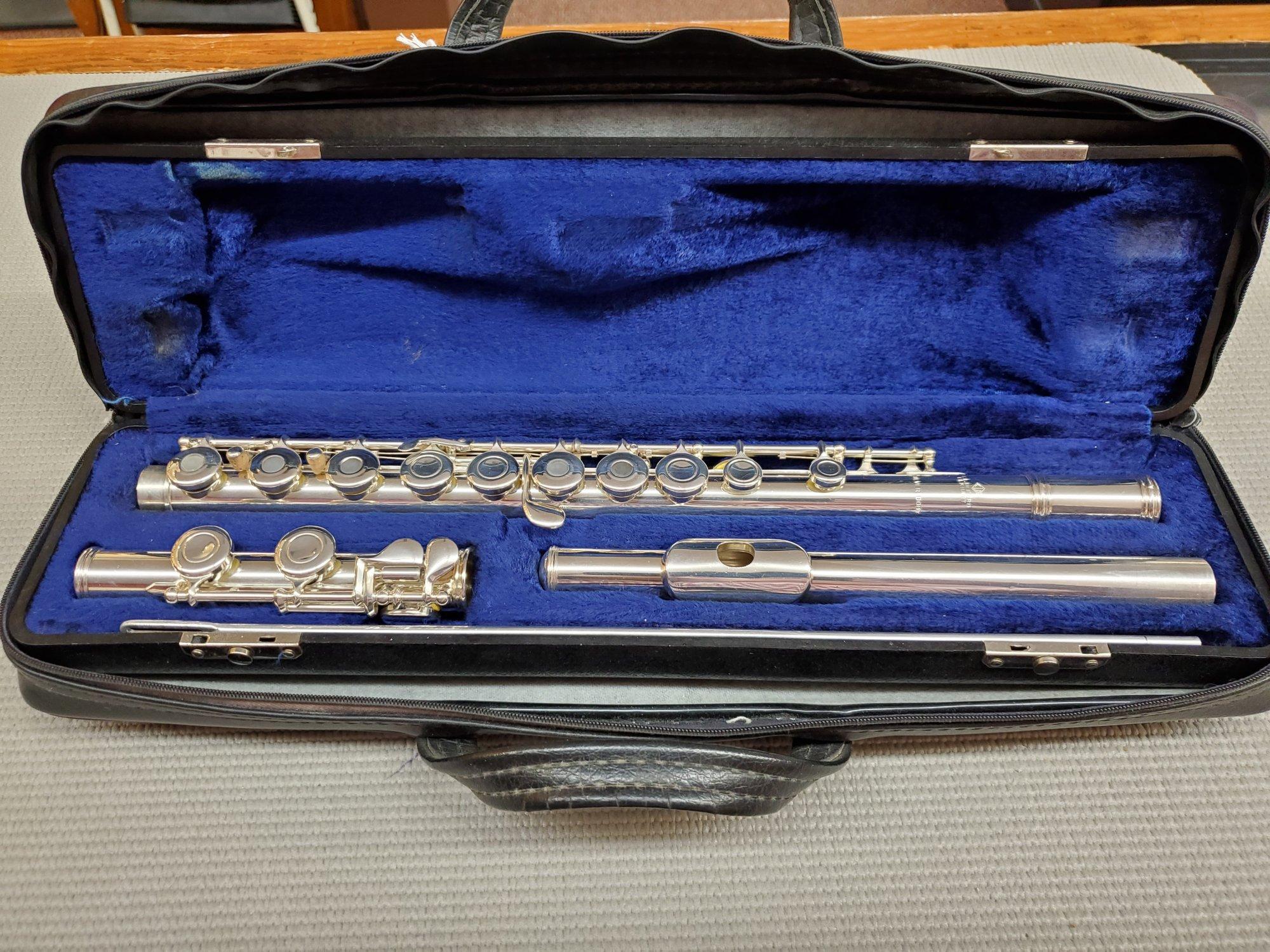 Used E.L. Deford Flute