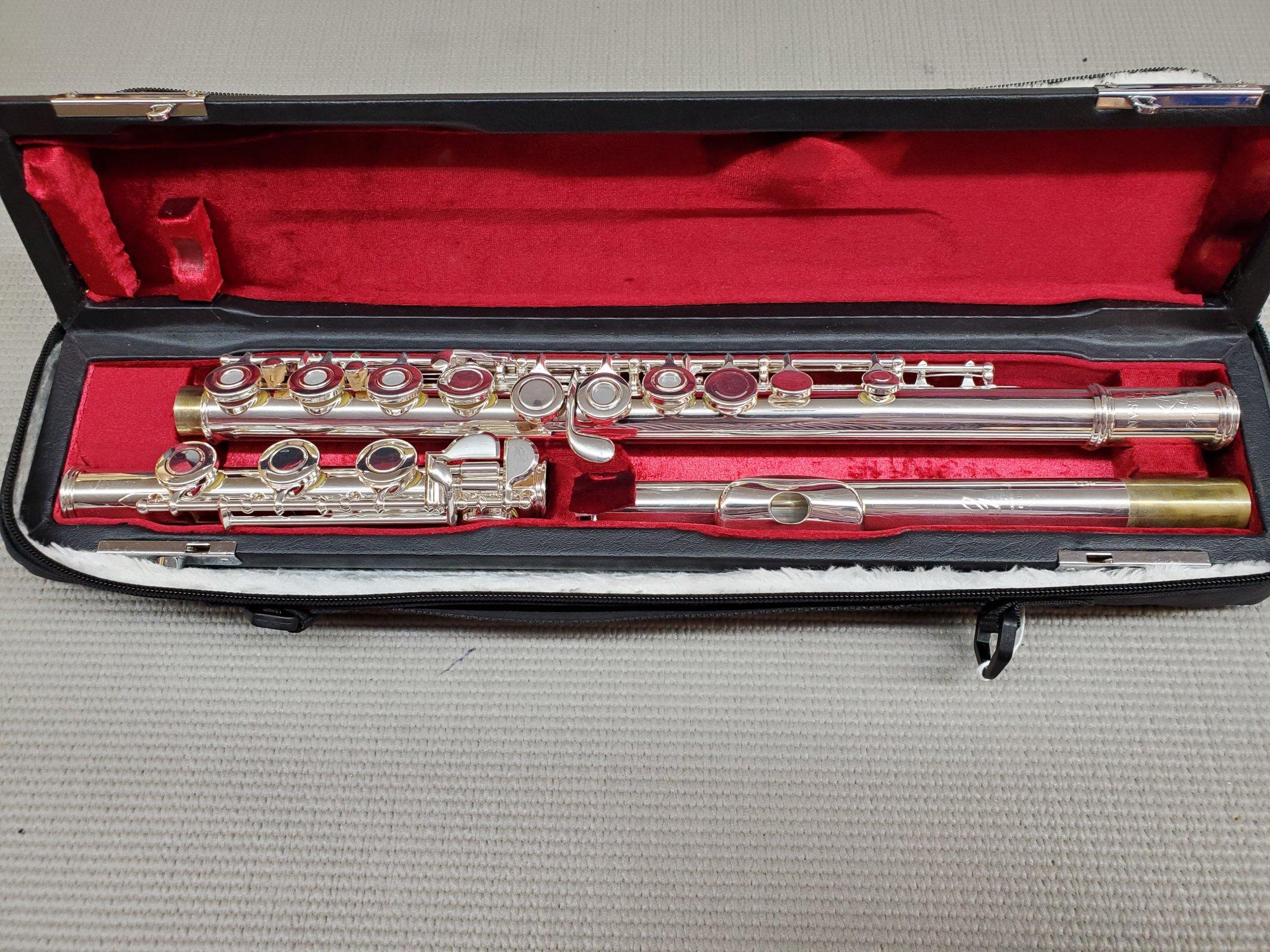 Used Gemeinhardt Flute AFL-31OB Artisan