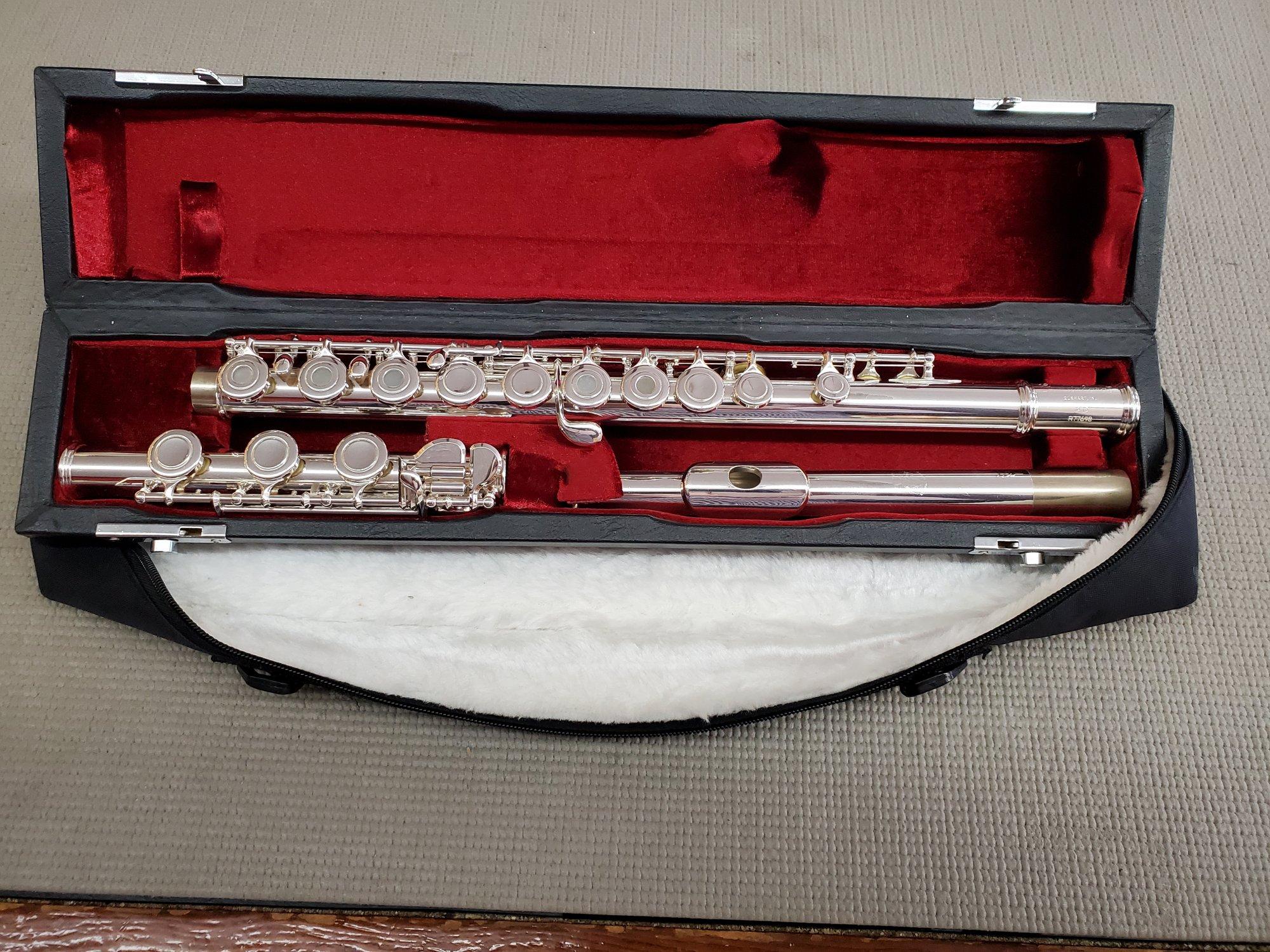 Used Gemeinhardt 3B Inline Open Hole Flute