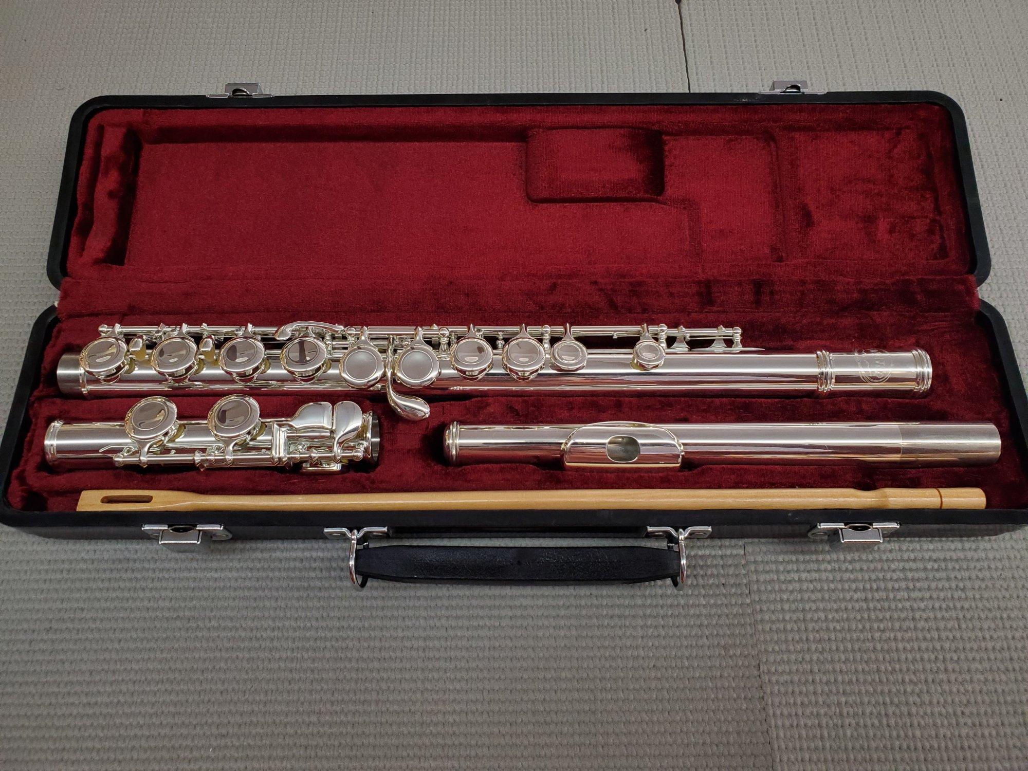 Used Jupiter JFL-507 Closed Hole Flute