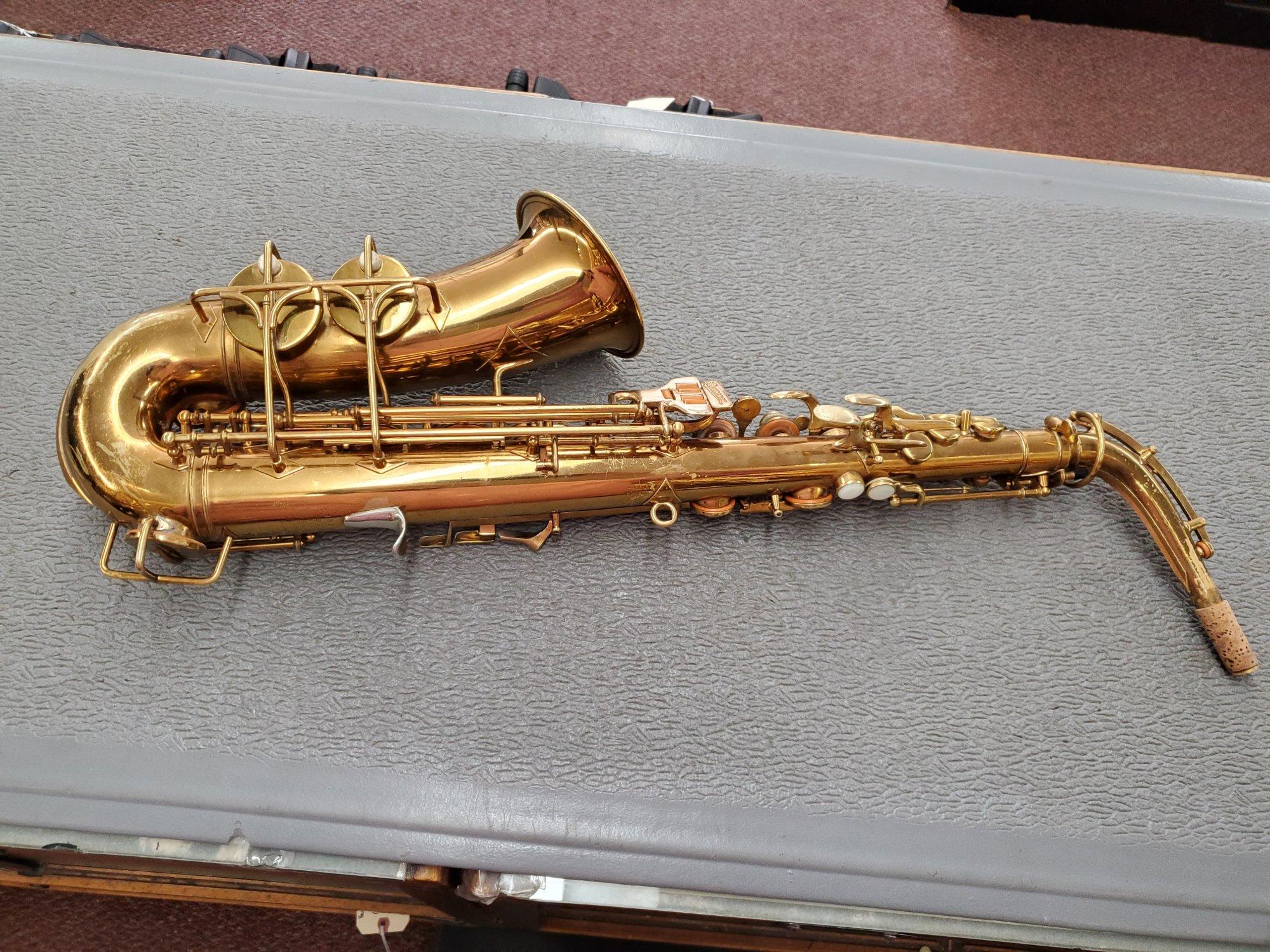 Used Buescher Alto Saxophone