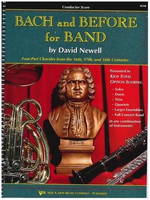 Bach and Before for Band Book 1 Score