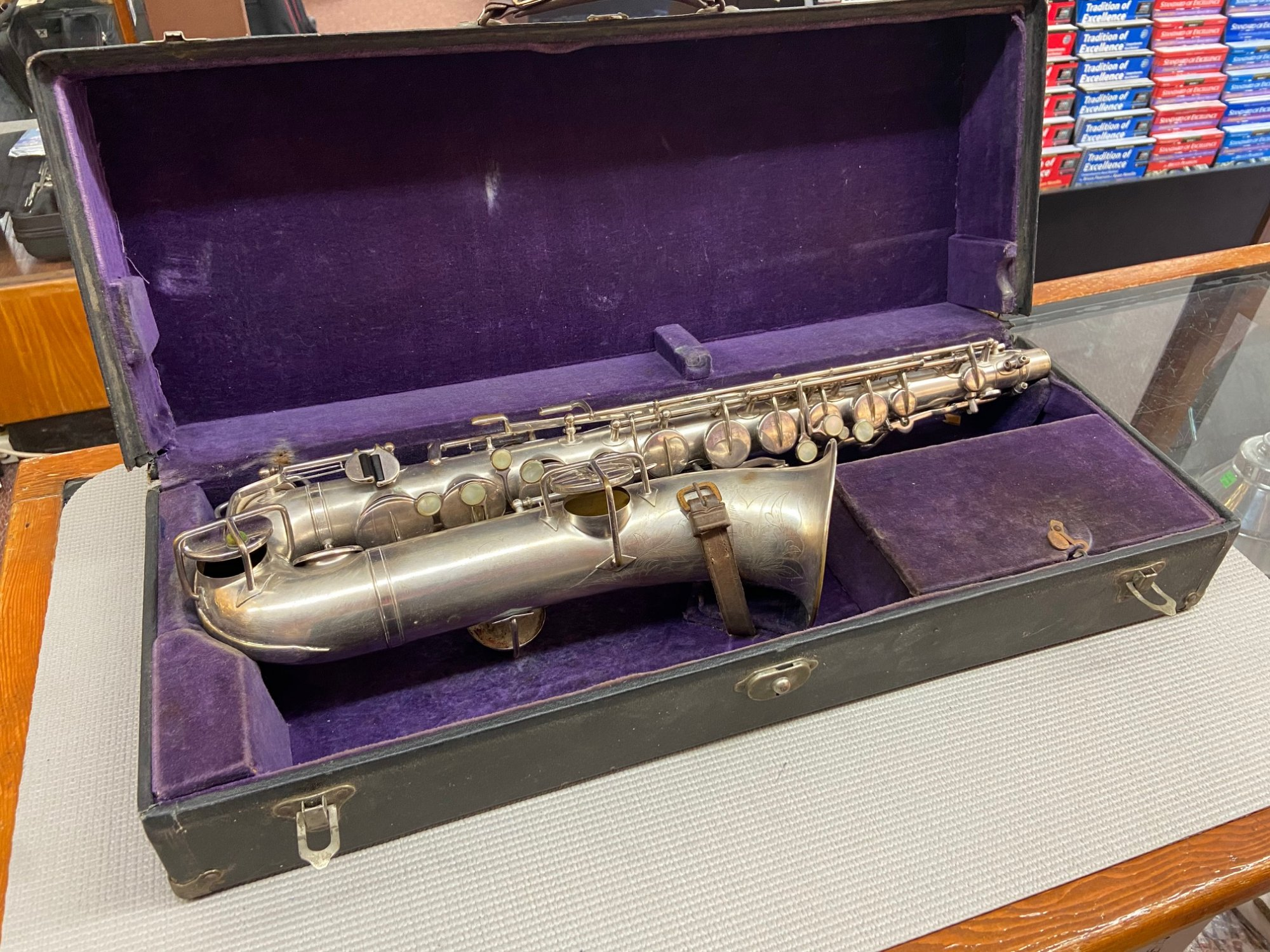 Used Buescher 'C-Melody' Saxophone