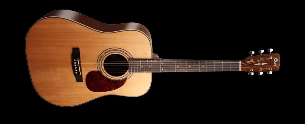 Cort Acoustic Guitar Open Pore Earth70OP
