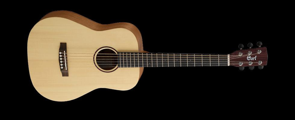 Cort Acoustic 3/4 Guitar Open Pore EarthMiniOP