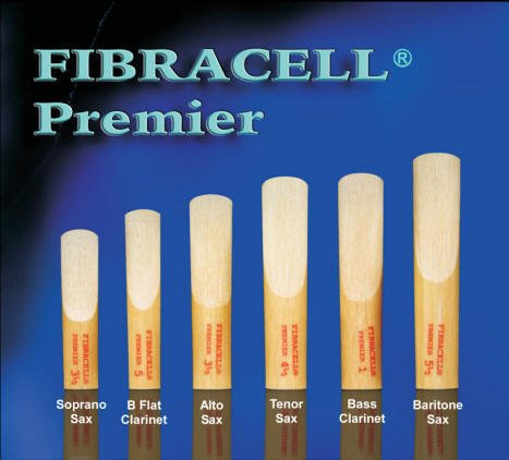 Fibracell Premier Bass Clarinet Reed (2.5) (# BCMIRI25)