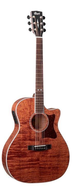 Cort Acoustic Electric Guitar GA5F-FMH-OP