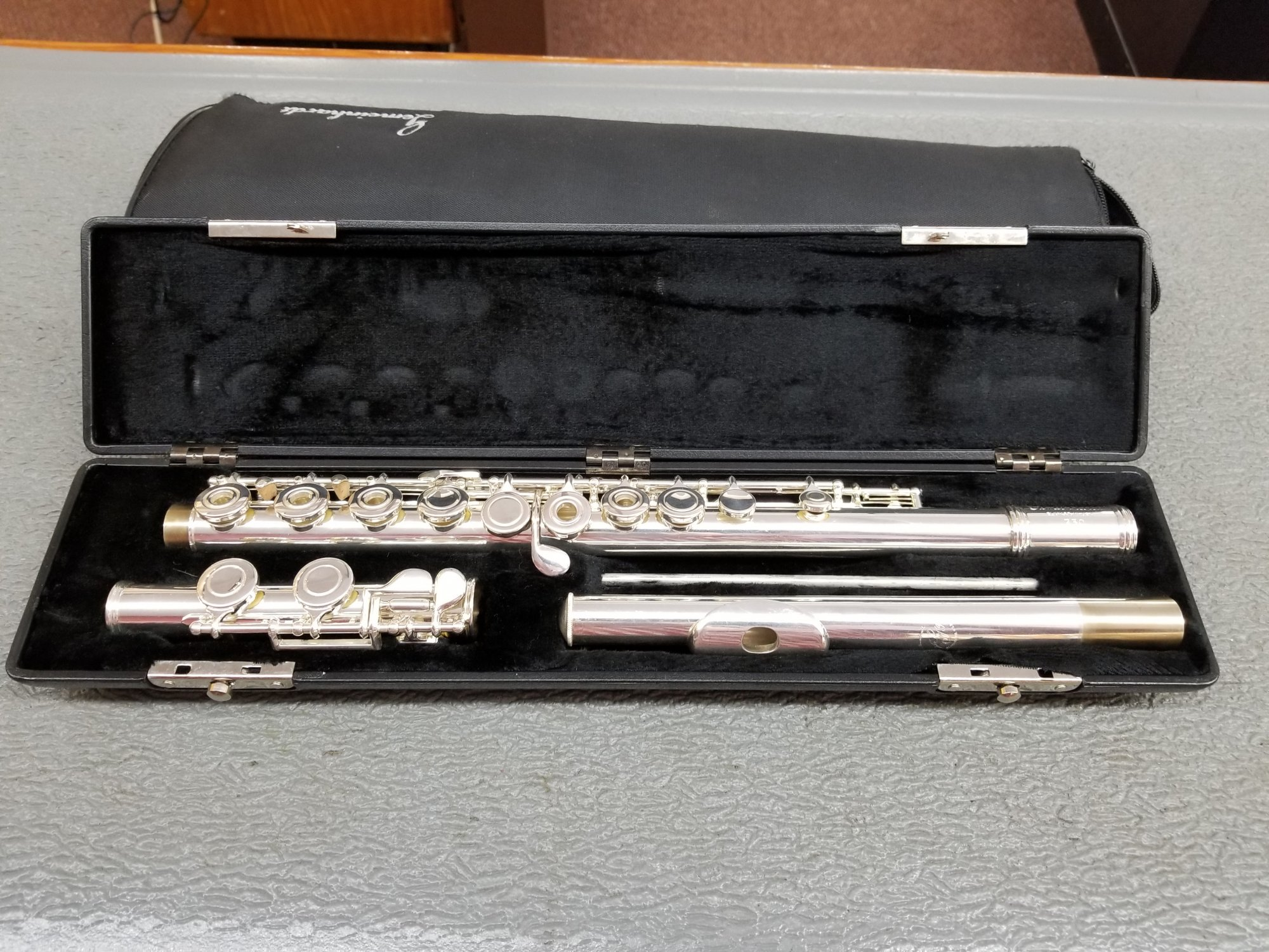 Used Gemeinhardt 730 Open Hole Flute (C Foot)