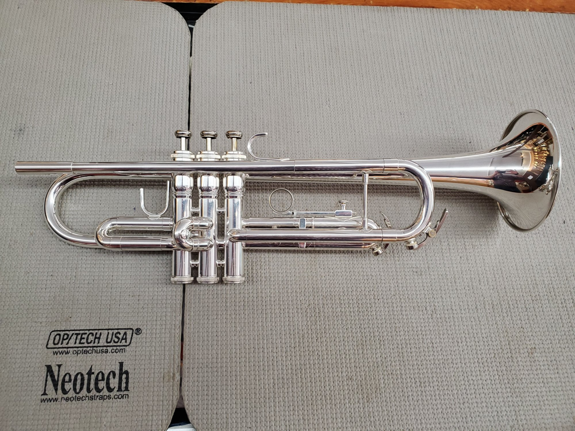 Used King 601S Bb Trumpet (Silver-Plated)