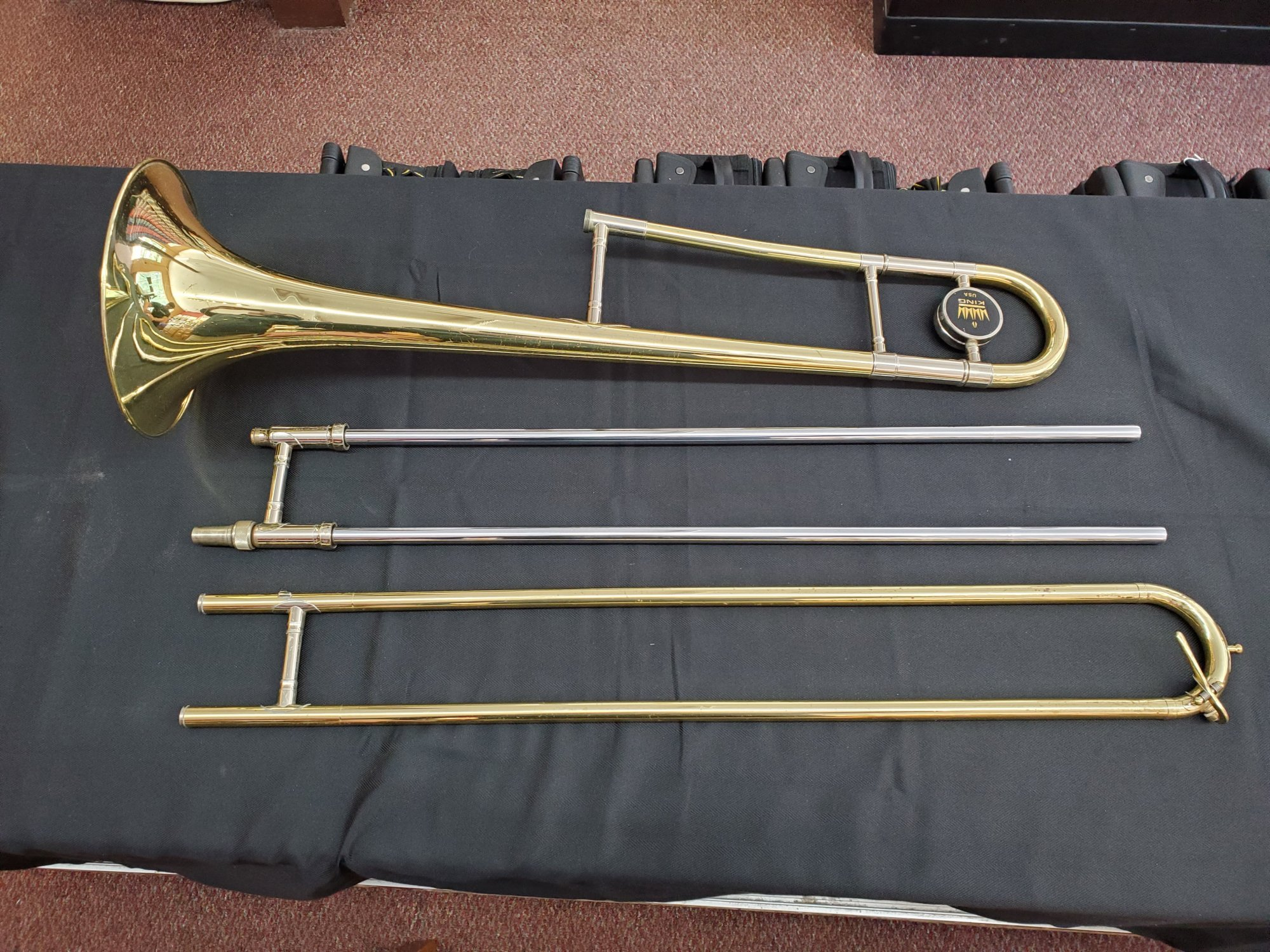 Used King 606 Trombone
