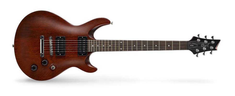 Cort Electric Guitar Walnut Satin M200WS