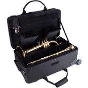 Protec Propac Trumpet/Aux Combo w/wheels PB301VAX
