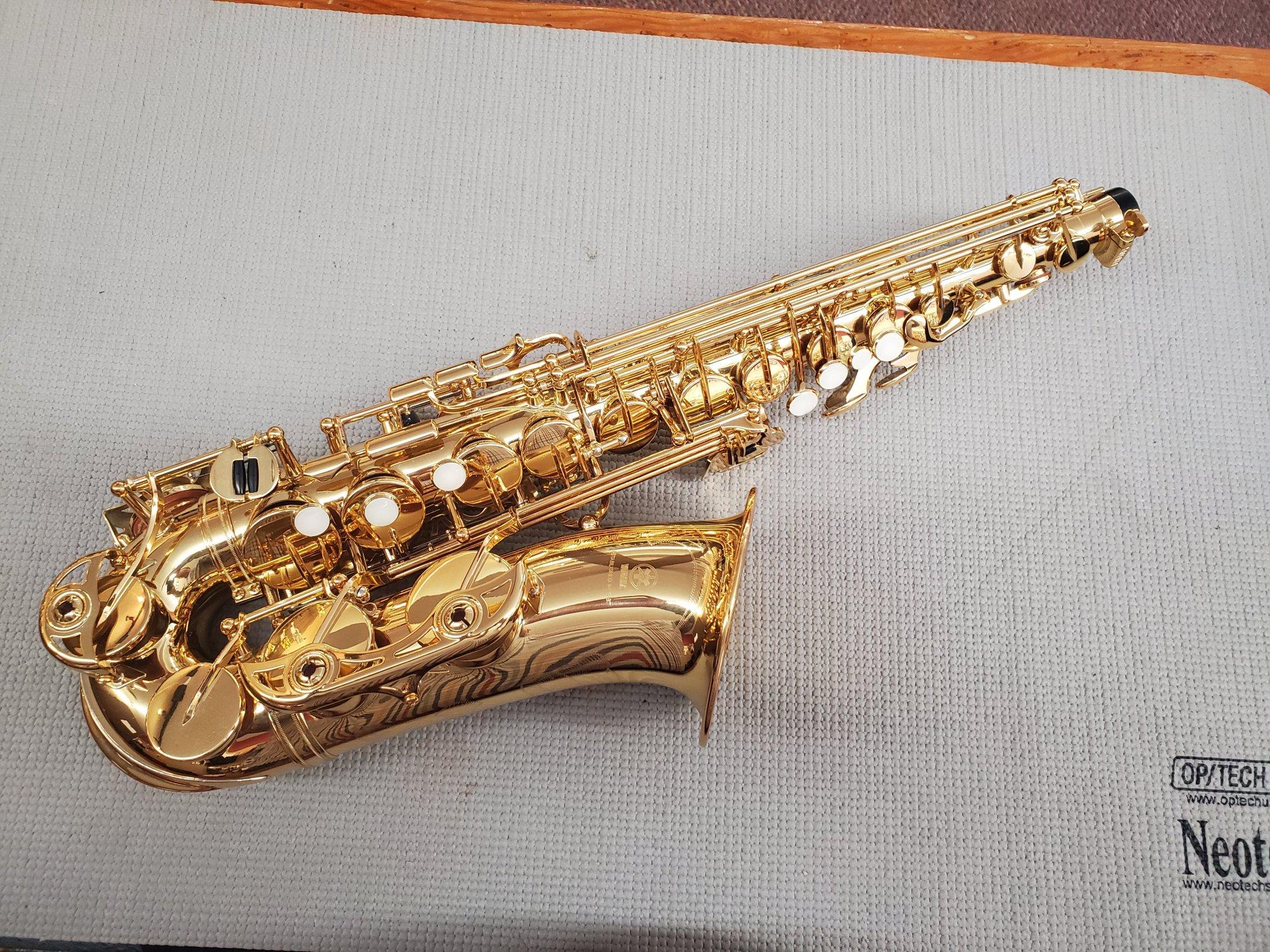 Used Yamaha Alto Saxophone YAS-62III