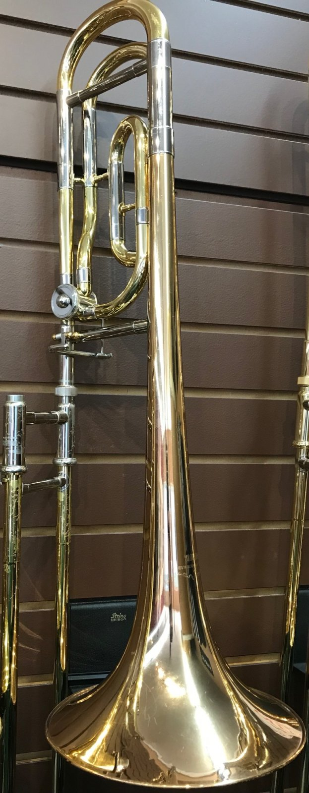 Yamaha Trombone YSL684G Professional F-Attachment - 1519322885