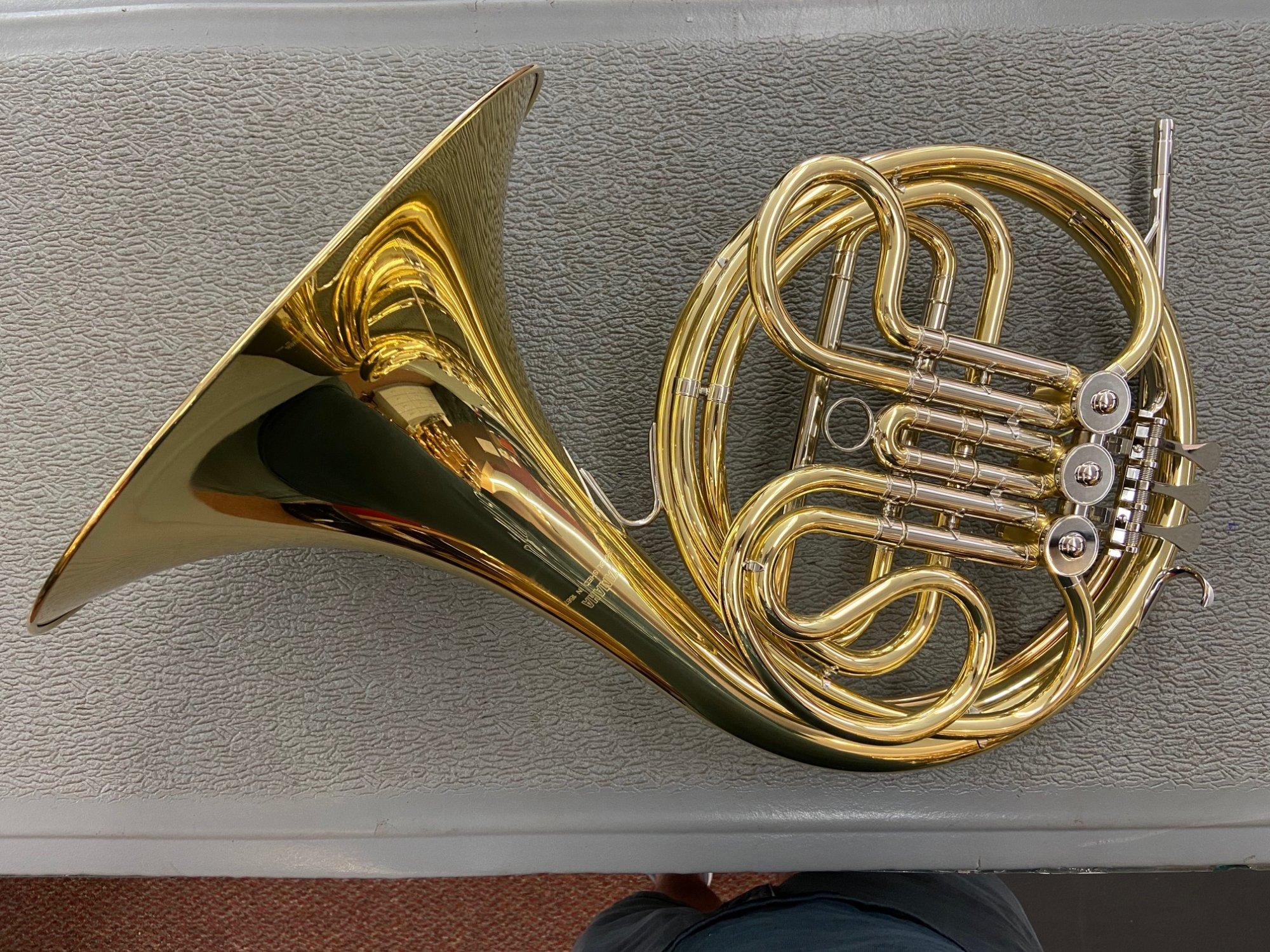 **DEMO** Yamaha French Horn YHR-314II Student Single