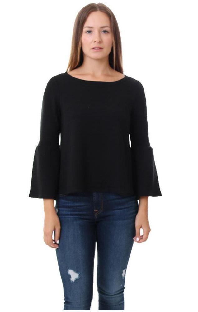 BB Dakota 3/4 bell sleeve sweatshirt