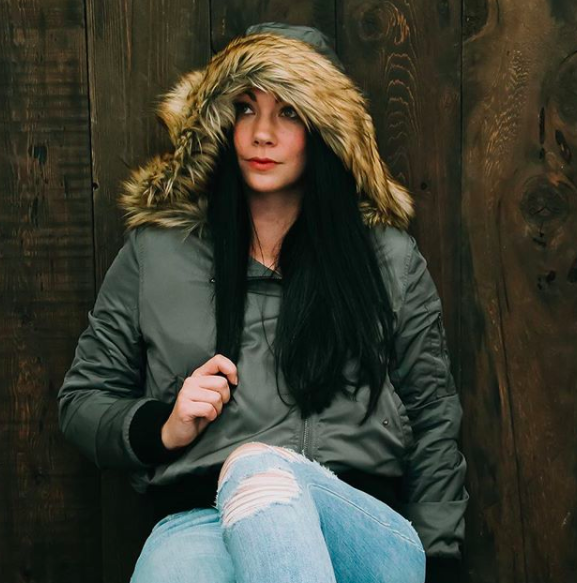 BB Dakota faux fur hooded bomber jacket