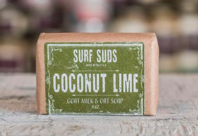 Surf Suds goat milk & oat soap