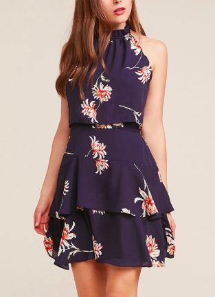 BB Dakota Garden Variety ruffle dress