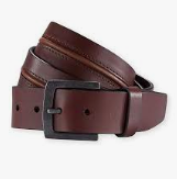 Pistil Harrison leather mens belt
