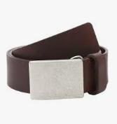 Pistil Cash leather mens belt