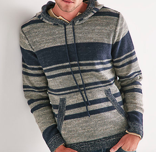 Lucky Brand Blanket Stripe hoodie