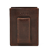 Fossil Derrick magnetic card case
