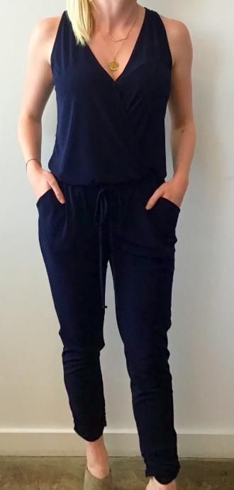 Veronica M sleeveless jogger jumpsuit