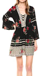 Angie bell sleeve dress