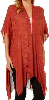 Angie fringe kimono