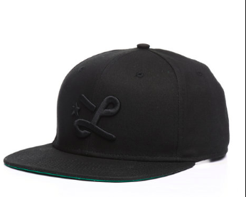 LRG Down with the L snapback hat