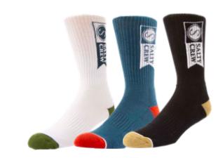 Salty Crew Alpha 3-pack sock