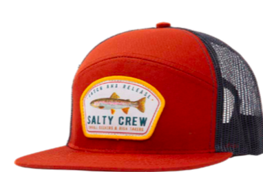 Salty Crew Catch and Release trucker hat