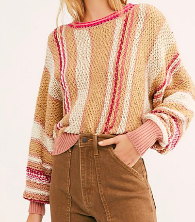 Free People Show Me Love sweater