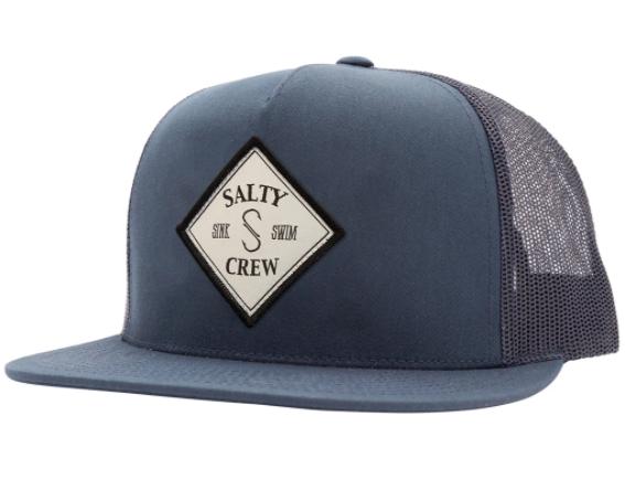 Salty Crew Tippet Navy Trucker Hat