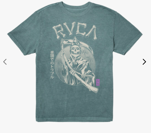 RVCA Trouble in Paradise SS Tee