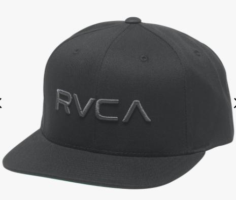 RVCA Twill Snapback III Hat