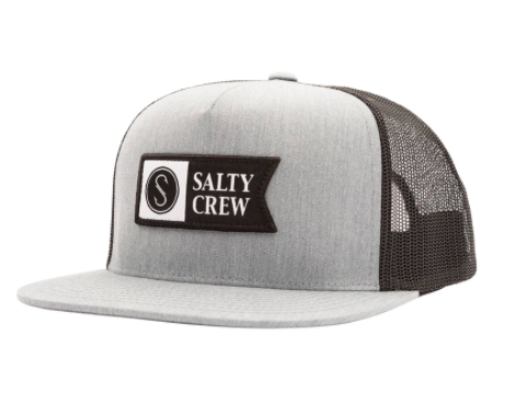 Salty Crew Alpha Twill Trucker